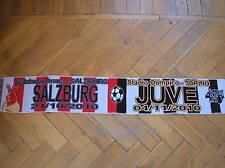 SCIARPA SCARF JUVENTUS VS SALZBURG CHAMPIONS LEAGUE 2010 FOOTBALL ARENA OLIMPICO