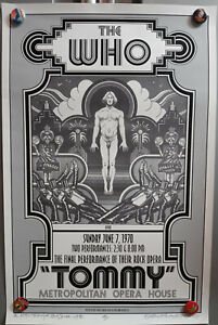 DaVid BYrd Signed The Who Met Opera Artist'S PrOOf PoSter