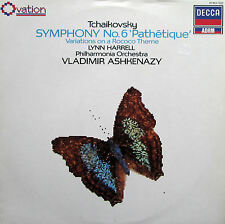 Tchaikovsky Symphony no. 6 Pathetique Ashkenazy Decca Ovation 417 463-1 NM/EX