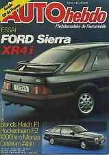 AUTO HEBDO n°364 du 14 Avril 1983 FORDI SIERRA XR4 SAFARI RALLY