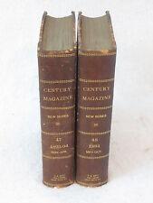 THE CENTURY ILLUSTRATED MAGAZINE 1893-1894 2 Vols MARK TWAIN Pudd'nhead Wilson