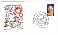 1995 Marilyn Monroe First Day Cover FDC Sc 2967 Planet Hollywood House of Farnam