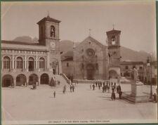 NORCIA (Perugia). Fotografia originale fine 1800.