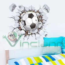 b-Wall sticker adesivo Pallone Calcio decorazione parete muro cameretta bambino