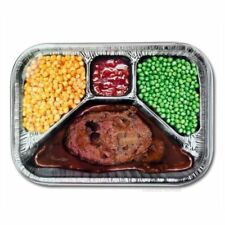 Accoutrements 12279 TV Dinner Style Metal Serving Tray