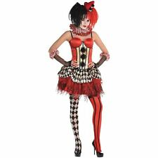 Halloween Circus Clown Corset M/L Carnival Halloween Costume Fancy Dress