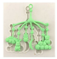 Baby Mobile Silicone Mold for Fondant, Gum Paste, Chocolate, Crafts