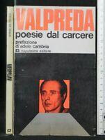 POESIE DAL CARCERE. Pietro Valpreda. Napoleone.