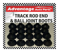 Universal Track Rod End Bar and Ball Joint Dust Cap Cover Boot - Small x 20