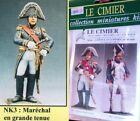 q Le Cimier 90 mm - Guerre Napoleoniche - Maresciallo Francese (Grande uniforme)