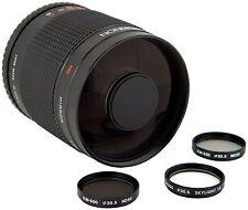 ROKINON 500mm f/8 Mirror Telephoto HD Prime Lens Sony Alpha DSLR SLR T-Mount