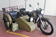 Moto sidecar URAL 350 cc, dell' anno 1969 targato