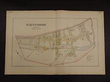 New York, Oneida County Map, 1907 City of Whitesboro, Double Page R3#02