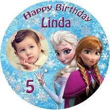 Tortenaufleger Tortenbild Disney Eiskönigin Frozen Elsa und Anna Fototorte (14)