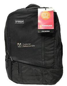 "NWT Timbuk2 Q Backpack Black 26L Padded 17"" Laptop & iPad Backpack"