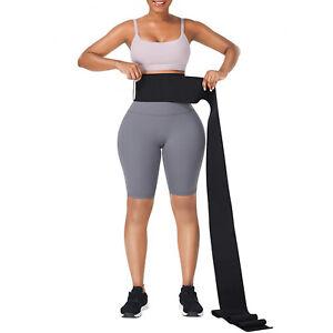 Waist Trainer Tummy Conrtrol Support Belt Snatch Me Up Bandage Wrap Bands Shaper
