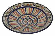 Moroccan Ceramic Bowl Pasta Plate Handmade Serving Wall Hanging 14inches X-large  sc 1 st  eBay & Mediterranean Decorative Plates u0026 Bowls | eBay