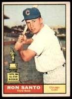 1961 Topps Set Break Vg Ron Santo Chicago Cubs #35