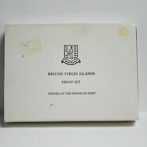 1974 British Virgin Islands Proof Set The Franklin Mint (otb778)