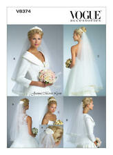 Vogue V8374 Pattern Bridal Veils OSZ Uncut