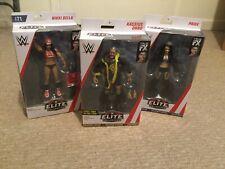 WWE Kassius Ohno Elite Paige Nikki Red Shirt Collector's Ed. Wrestling Figures
