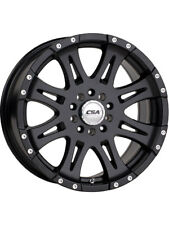 CSA WHEEL 16X8 RAPTOR (SMALL CAP) SATIN BLACK (PCD:6X114.3  OFFSET:P20)