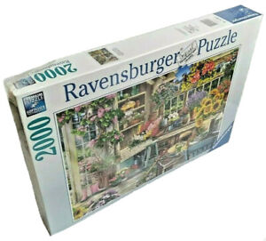Ravensburger Gardener's Paradise 2000 Piece Puzzle Newin Plastic Softclick Tech