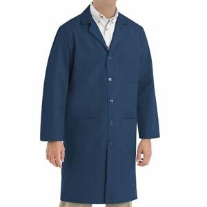 Brand New Men's Navy Lab Coat Size 38-56