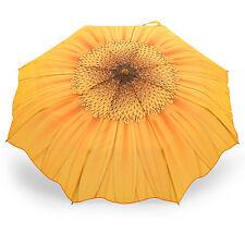 Taschenschirm Automatik Regenschirm Motiv Sonnenblume ROSEMARIE SCHULZ