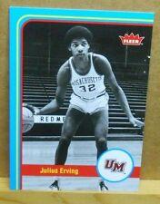 (2) 2012-13 Fleer Retro #50 Julius Erving