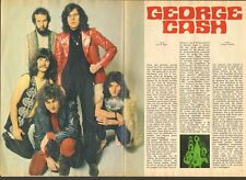 GEORGE CASH paper-PHOTO Magazine PEP Dutch SIXTIES Beat Nederpop TON SIJBRANDS
