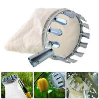 Fruit Picker Head Basket Gardening Fruits Catcher Picking Tool for Apple #D