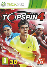 TOP SPIN 4 for Xbox 360 - PAL