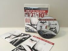 PS3 Playstation 3 Batman Arkham City Complete with Manual