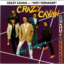 CD Crazy Cavan 'n' The Rhythm Rockers - Hey! Teenager - TEDDY BOY - NEW SEALED