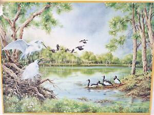 Australian Greetings 500 Tile Piece Jigsaw Puzzle Water Bird 36 x 49 cm Complete