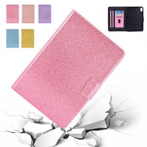For iPad Mini 6 10.2 Pro 11 2021 Air 4 10.9 2020 Glitter Flip Leather Case Cover