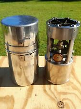 New listing Vintage COLEMAN No. 530 A46 Military Pocket Style Single Burner Camping Stove
