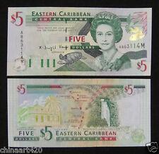 Eastern East Caribbean Montserrat Banknote $5 2000 UNC