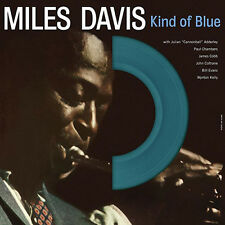 MILES DAVIS - KIND OF BLUE (reissue) - VINYL (LP) 'Limited blue vinyl'