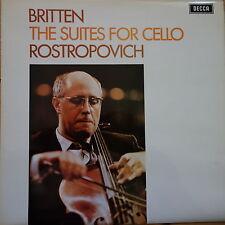 SXL 6393 Britten les suites pour violoncelle/Rostropovich