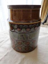 Ceramic Hornsea Pottery Jars