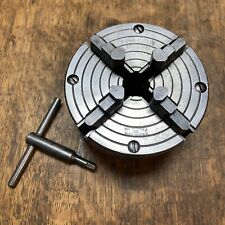 New Listingatlas Craftsman 4 4 Jaw Lathe Chuck 1 10tpi Made In Usa 11121406 Perfect 618