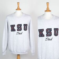 GREY USA SWEATSHIRT KSU UNIVERSITY COLLEGE SWEATER DAD PARENTS KENNESAW STATE XL