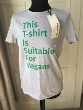 Grey People Tree Organic Cotton Vegan T Shirt New