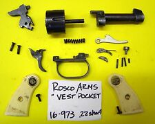 ROSCO ARMS 22 SHORT. HAMMER, TRIGGER, GRIPS, SMALL GUN PARTS ALL FOR ONE PRICE