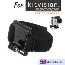 Cámara de acción montaje Correa para la muñeca para Kitvision Escape 4KW Escape HD5W Escape HD5