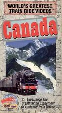VHS: WORLD'S GREATEST TRAIN RIDES: CANADA