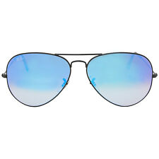 Ray Ban Aviator Blue Gradient Mirror Sunglasses RB3025 002/4O 62