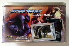 Star Wars ~ Art of Ralph McQuarrie ~ 20 All Metal Collector Cards 1996